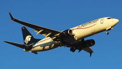 A picture of N368AR - Boeing 73786J - Aeromexico - © Alejandro Aceves