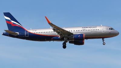 A picture of VPBIF - Airbus A320214 - Aeroflot - © Mikhail Tkachuk