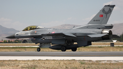 90-0010 - General Dynamics F-16C Fighting Falcon - Turkey - Air Force