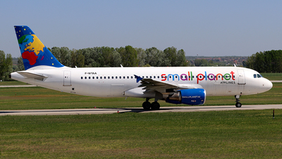 F-WTAA - Airbus A320-214 - Small Planet Airlines Germany