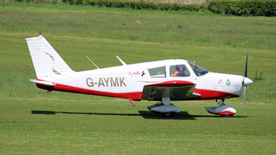 G-AYMK - Piper PA-28-140 Cherokee C - Private
