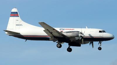N991FL - Convair CV-580 - IFL Group