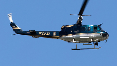 N224SP - Bell UH-1H Iroquois - United States - New York State Police
