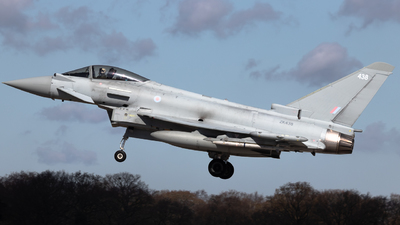 ZK438 - Eurofighter Typhoon FGR.4 - United Kingdom - Royal Air Force (RAF)