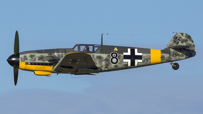 D-FMGS - Messerschmitt Bf 109G-6 - Private