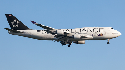 HS-TGW - Boeing 747-4D7 - Thai Airways International