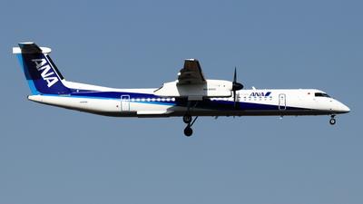 A picture of JA856A - De Havilland Canada Dash 8400 - All Nippon Airways - © NRT Spotter