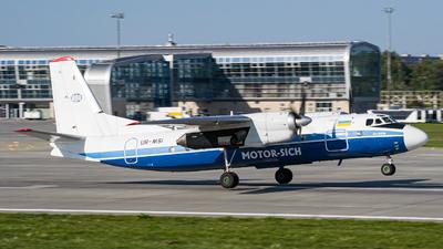 UR-MSI - Antonov An-24RV - Motor Sich Airlines