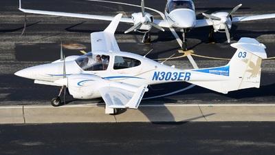 N303ER - Diamond DA-42 NG Twin Star - Embry-Riddle Aeronautical University (ERAU)