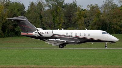 N571FX - Bombardier BD-100-1A10 Challenger 350 - Flexjet