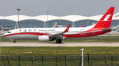 A picture of B5315 - Boeing 73786D - Shanghai Airlines - © WYANG0520
