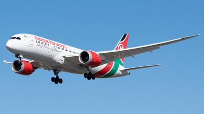 A picture of 5YKZB - Boeing 7878 Dreamliner - Kenya Airways - © Max AviationYT