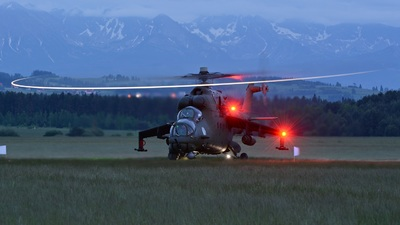 729 - Mil Mi-24V Hind E - Poland - Air Force