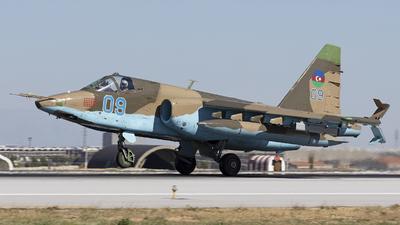 09 - Sukhoi Su-25 Frogfoot - Azerbaijan - Air Force