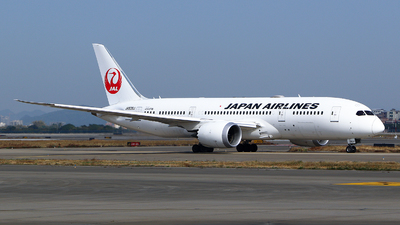 JA838J - Boeing 787-8 Dreamliner - Japan Airlines (JAL)