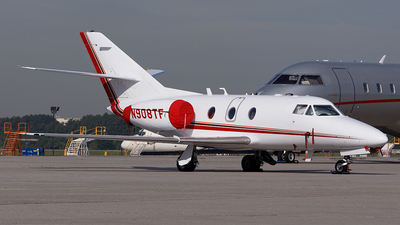 N908TF - Dassault Falcon 10 - Private