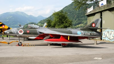 HB-RVU - Hawker Hunter Mk.58  - Air Vampires
