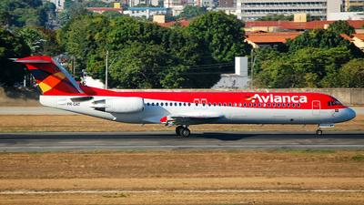 PR-OAT - Fokker 100 - Avianca Brasil