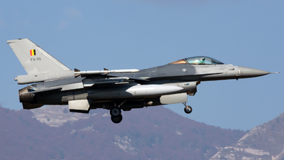 FA-95 - General Dynamics F-16AM Fighting Falcon - Belgium - Air Force