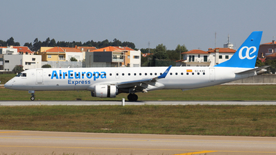 A picture of ECKXD - Embraer E195LR - Air Europa - © Luciano Bragança