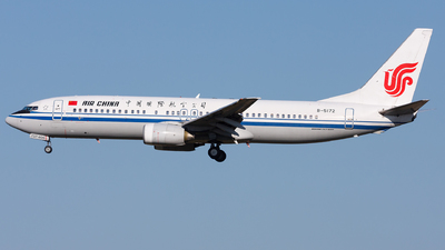 B-5172 - Boeing 737-8Q8 - Air China