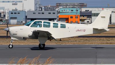 JA4113 - Beechcraft A36 Bonanza - Private