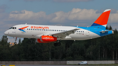 A picture of RA89139 - Sukhoi Superjet 10095B - Azimuth - © Alexander Tarasenkov