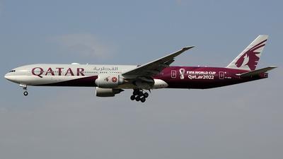 A picture of A7BEB - Boeing 7773DZ(ER) - Qatar Airways - © Urs RYSER � Alpes^^Air^^Pic