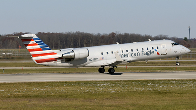 N215PS - Bombardier CRJ-200ER - American Eagle (PSA Airlines)