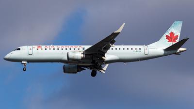 C-FNAN - Embraer 190-100IGW - Air Canada