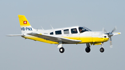 HB-PNX - Piper PA-32R-301T Turbo Saratoga SP - Private
