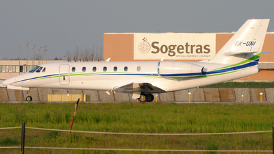 OK-UNI - Cessna 680 Citation Sovereign - Travel Service