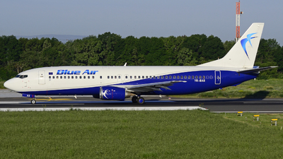 YR-BAS - Boeing 737-430 - Blue Air