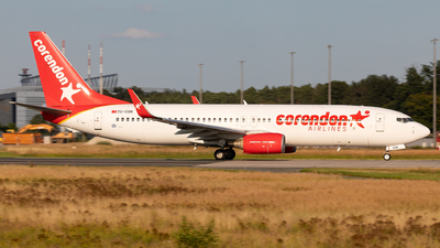 A picture of TCCON - Boeing 73781D - Corendon Airlines - © Sebastian Sowa