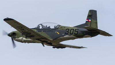 FAU305 - Pilatus PC-7 - Uruguay - Air Force