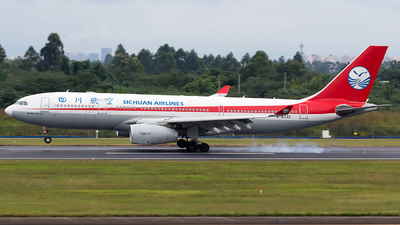 A picture of B8332 - Airbus A330243 - Sichuan Airlines - © SZ4509