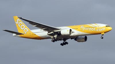 9V-OTD - Boeing 777-212(ER) - Scoot