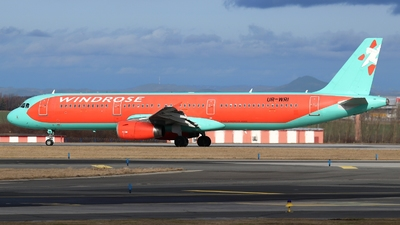 UR-WRI - Airbus A321-231 - Wind Rose Aviation