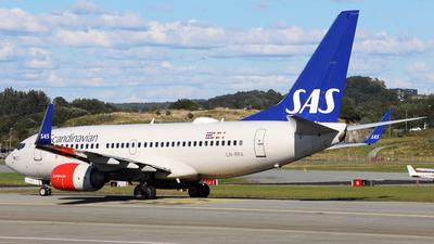 LN-RRA - Boeing 737-783 - Scandinavian Airlines (SAS)