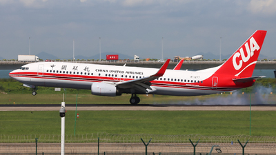 B-1277 - Boeing 737-89P - China United Airlines