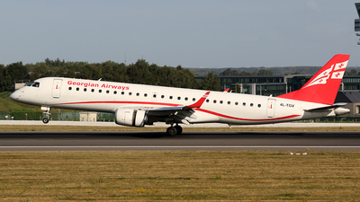 A picture of 4LTGV - Embraer E190AR - Georgian Airways - © *DaVe*