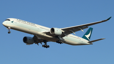 A picture of BLXD - Airbus A3501041 - Cathay Pacific - © ikeharel