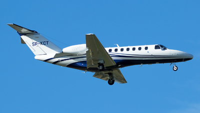 SP-KCT - Cessna 525B CitationJet 3+ - Jet Story
