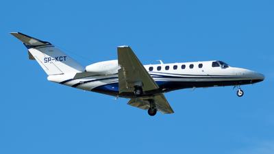 SP-KCT - Cessna 525B CitationJet 3+ - Jet Story