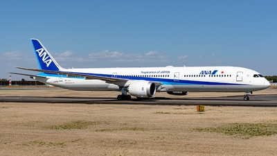 A picture of JA900A - Boeing 78710 Dreamliner - All Nippon Airways - © S. Waki
