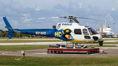 N818HD - Eurocopter AS 350BA Ecureuil - Private