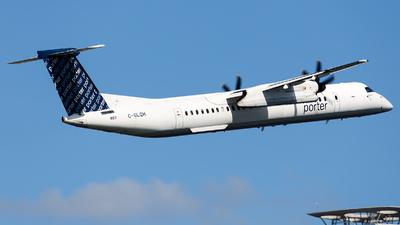 A picture of CGLQH - De Havilland Canada Dash 8400 - Porter Airlines - © James Rowson