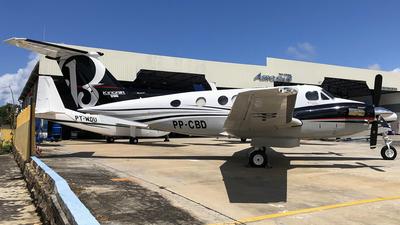 PP-CBD - Beechcraft B200 Super King Air - JUTA Taxi Aero