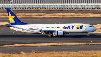 JA737N - Boeing 737-8HX - Skymark Airlines