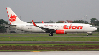 PK-LOQ - Boeing 737-8GP - Lion Air